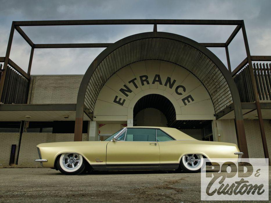 1965 Buick Riviera classic lowrider hot rod rods custom  hd wallpaper