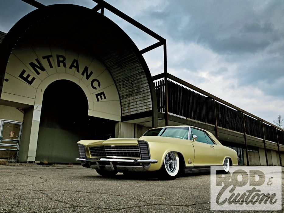 1965 Buick Riviera classic lowrider hot rod rods custom h wallpaper