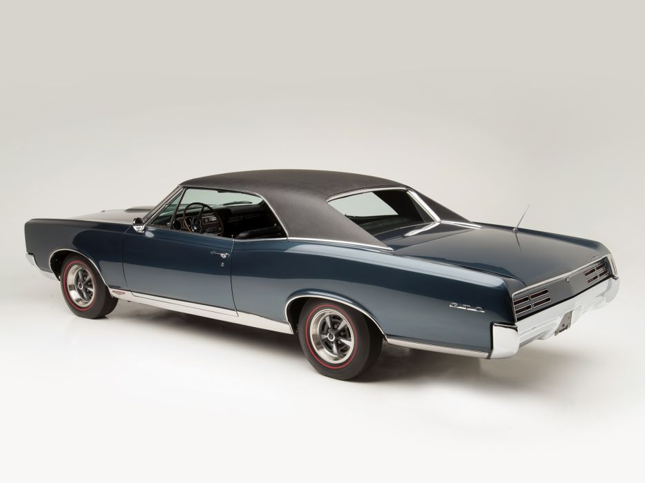 1967 Pontiac Tempest GTO Hardtop Coupe muscle classic   v wallpaper