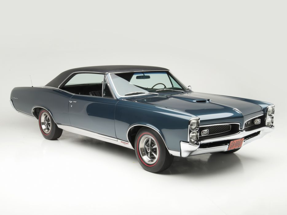 1967 Pontiac Tempest GTO Hardtop Coupe muscle classic e wallpaper