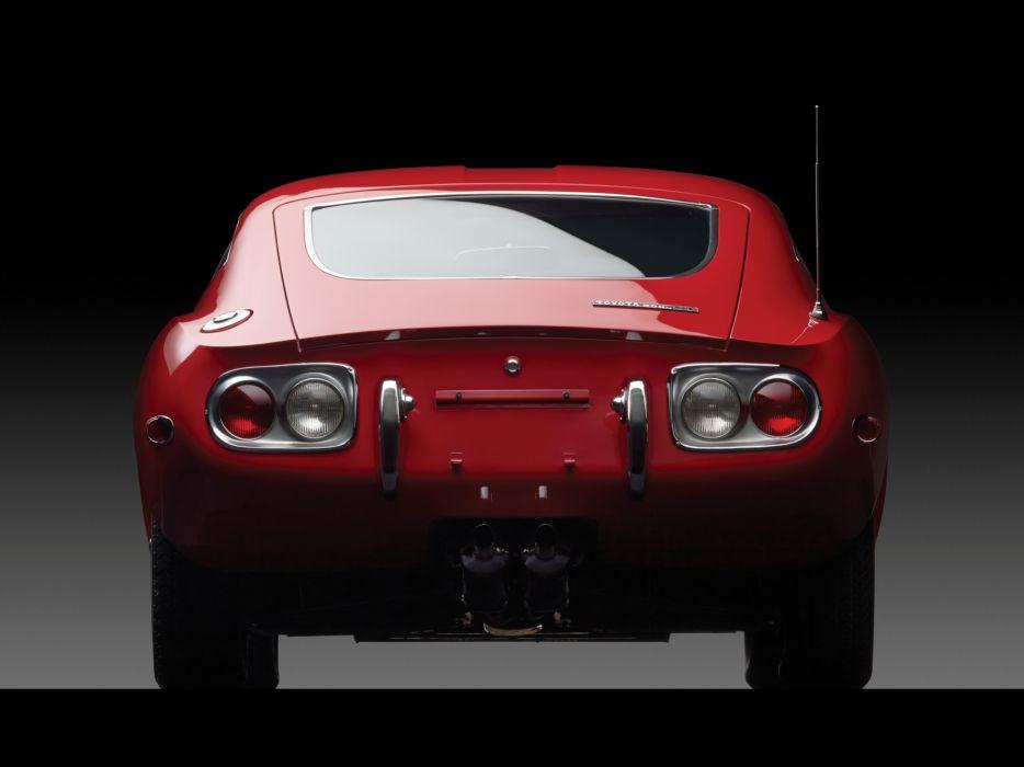 1967 Toyota 2000GT US-spec MF10 supercar classic   g wallpaper