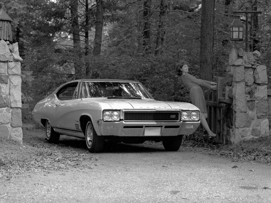 1968 Buick G-S 350 (43437) classic muscle      g wallpaper