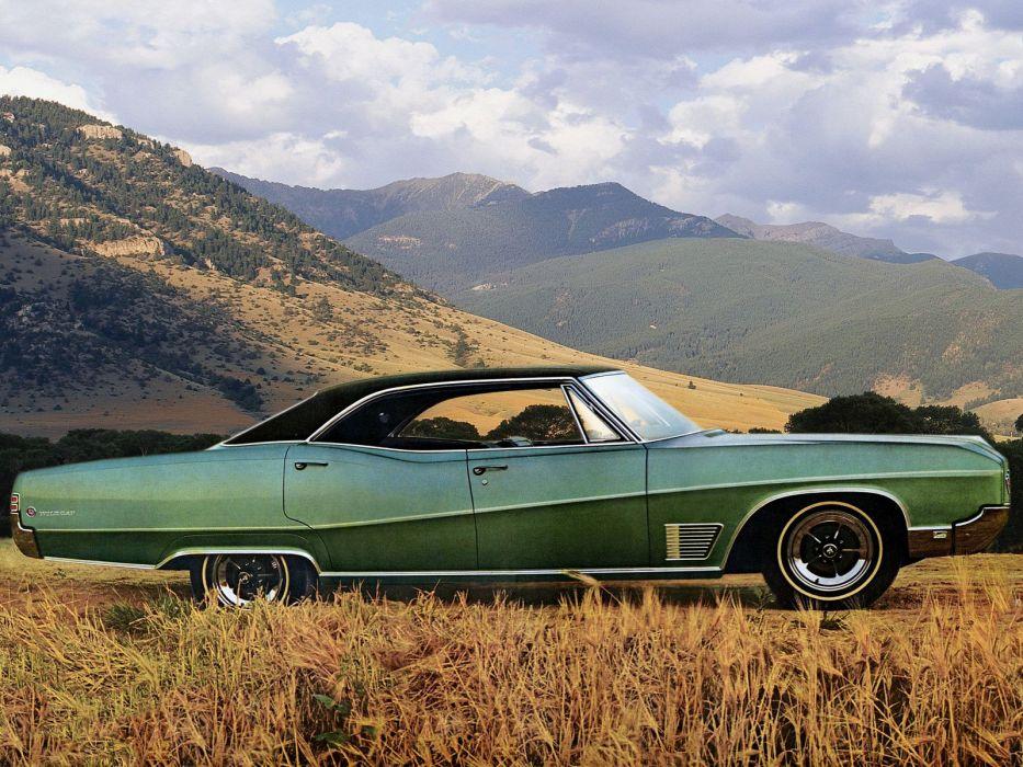 1968 Buick Wildcat Custom Hardtop Sedan (6639) classic     g wallpaper