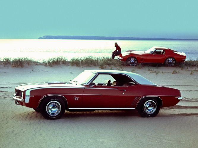 1968 Chevrolet Camaro corvette s-s supercar muscle wallpaper