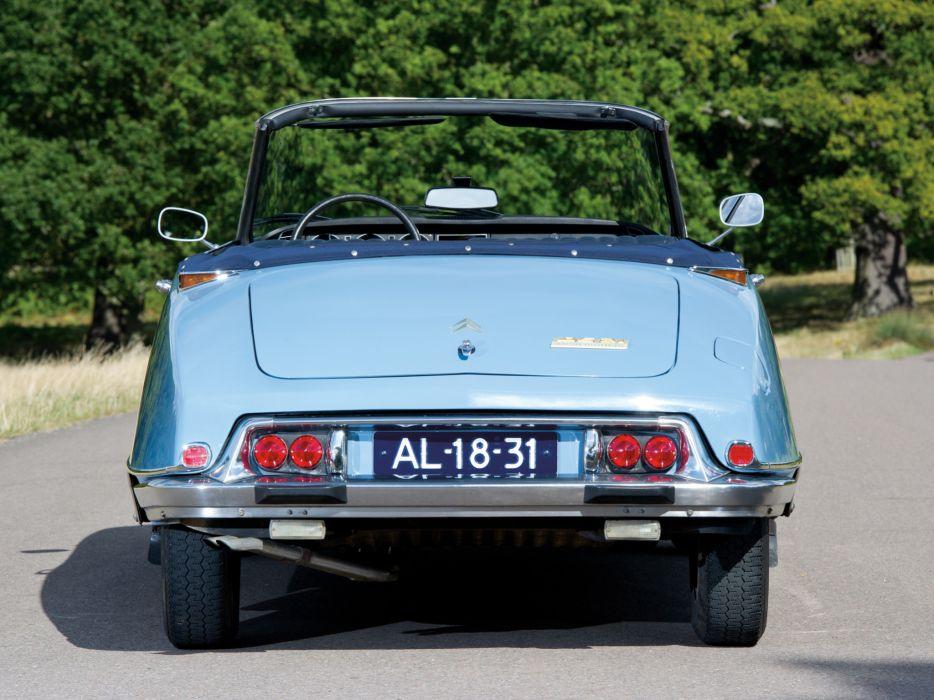 1968-71 Citroen D-S 2-1 Cabriolet classic f wallpaper
