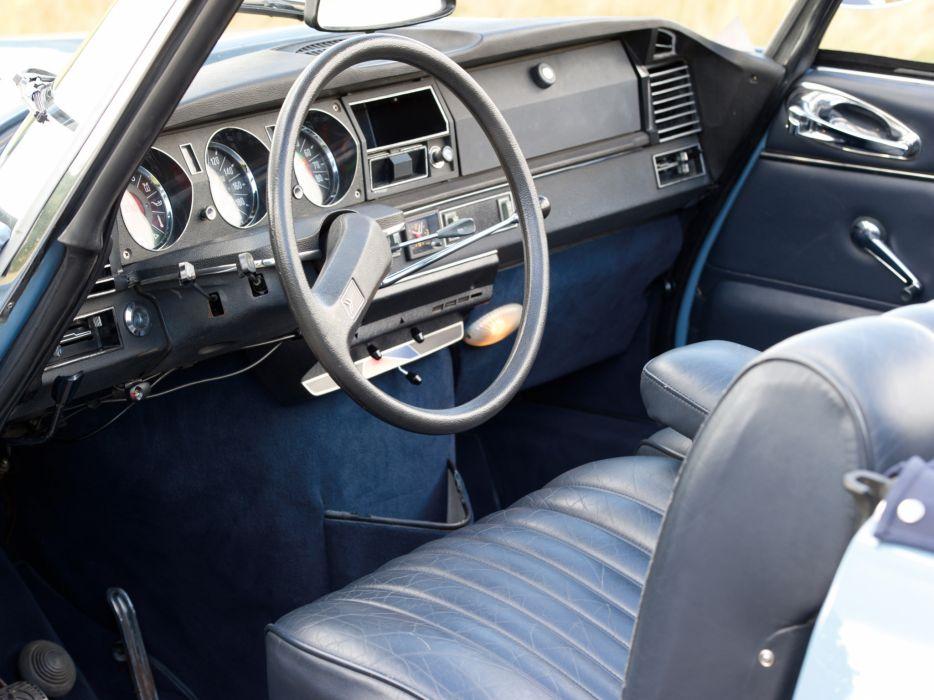 1968-71 Citroen D-S 2-1 Cabriolet classic interior     g wallpaper