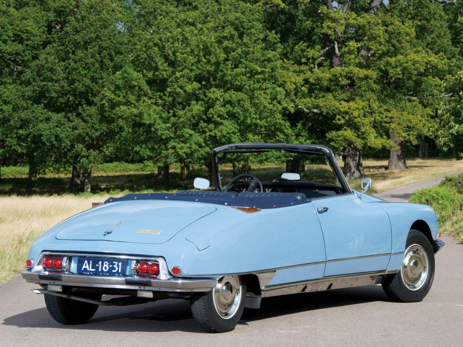 1968-71 Citroen D-S 2-1 Cabriolet classic da wallpaper