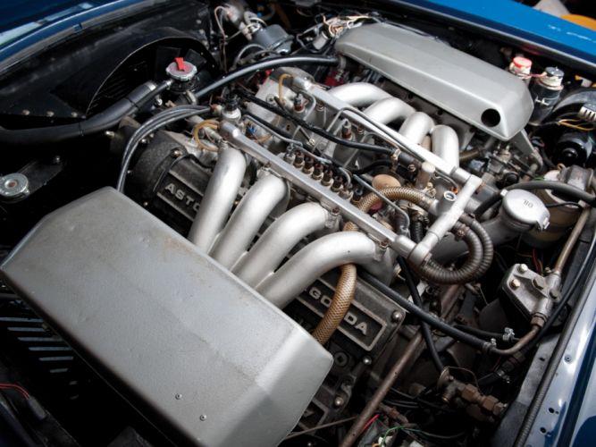 1970-72 Aston Martin DBS V-8 UK-spec engine j wallpaper
