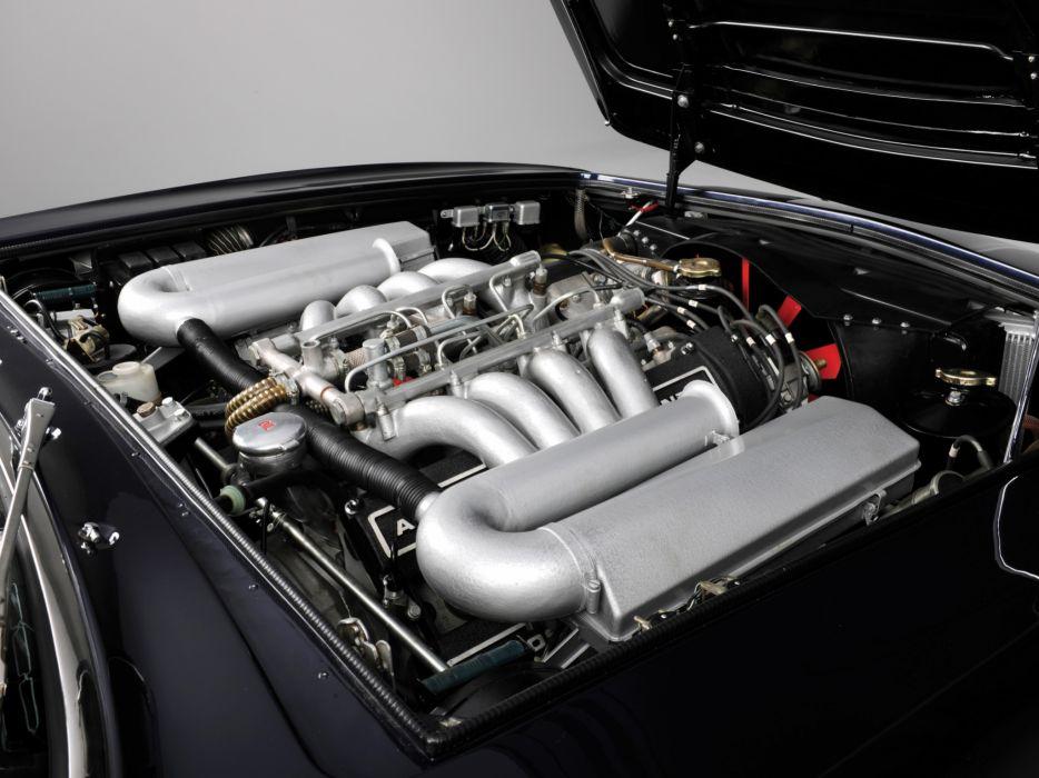 1970-72 Aston Martin DBS V-8 UK-spec engine     h wallpaper