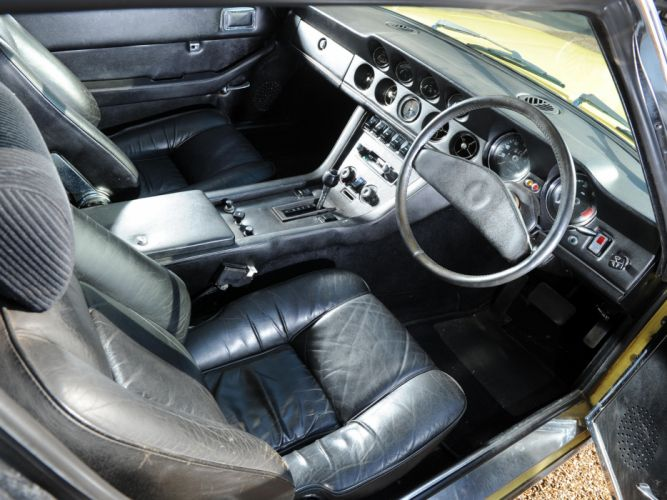 1971-76 Jensen Interceptor III supercar interior h wallpaper