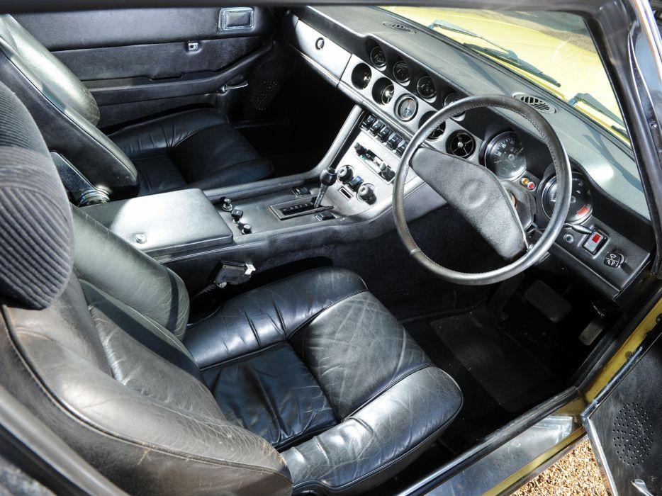 1971-76 Jensen Interceptor III supercar interior     h wallpaper