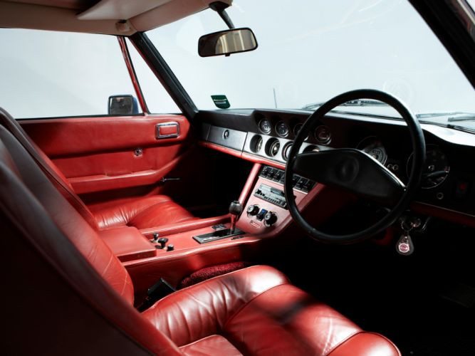 1971-76 Jensen Interceptor III supercar interior g wallpaper