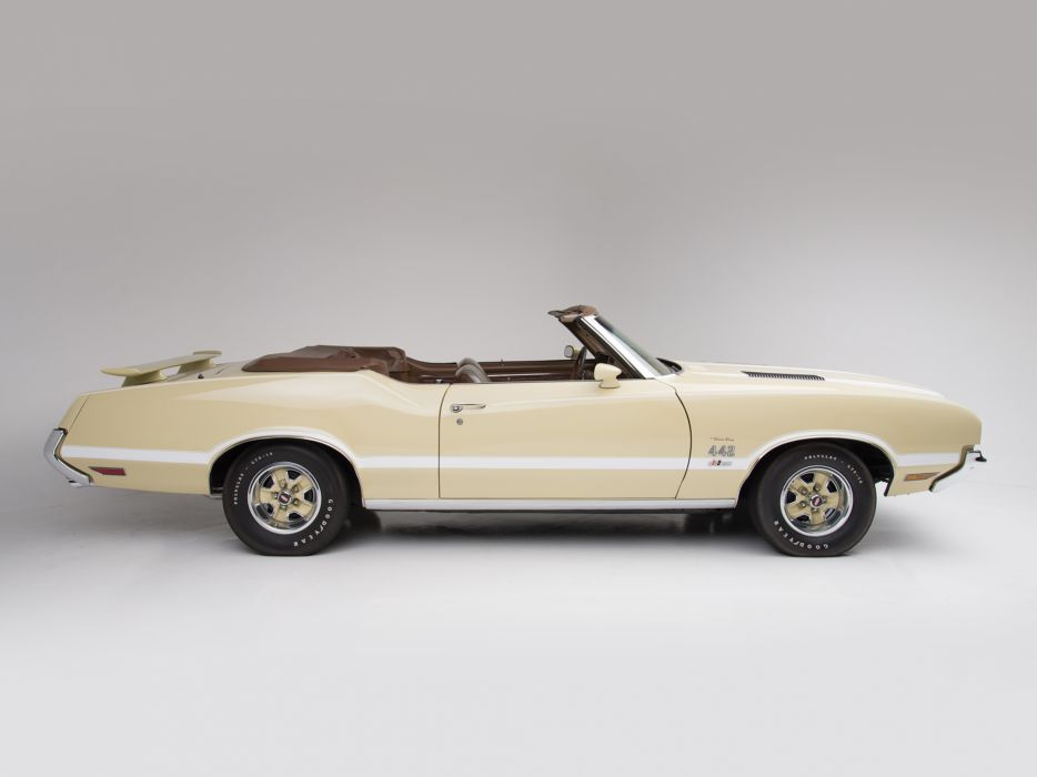 1972 Hurst Oldsmobile Cutlass Supreme 442 Convertible (J67) muscle   fs wallpaper