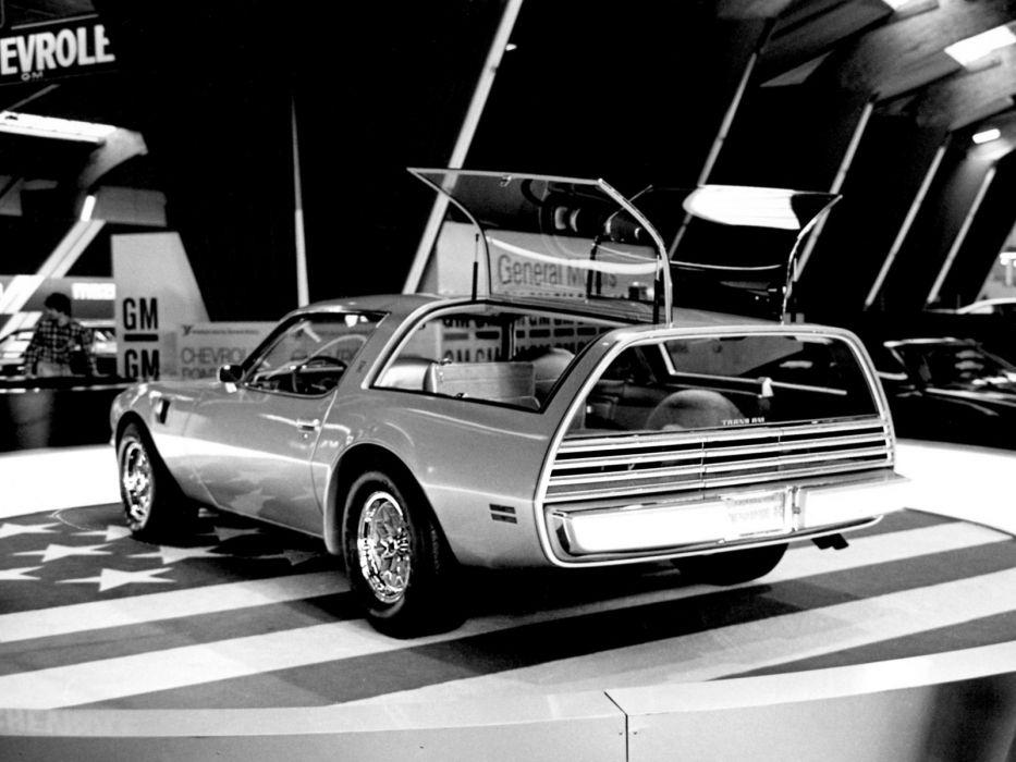 1977 Pontiac Firebird Trans-Am Type-K Concept stationwagon pickup muscle trans    g wallpaper
