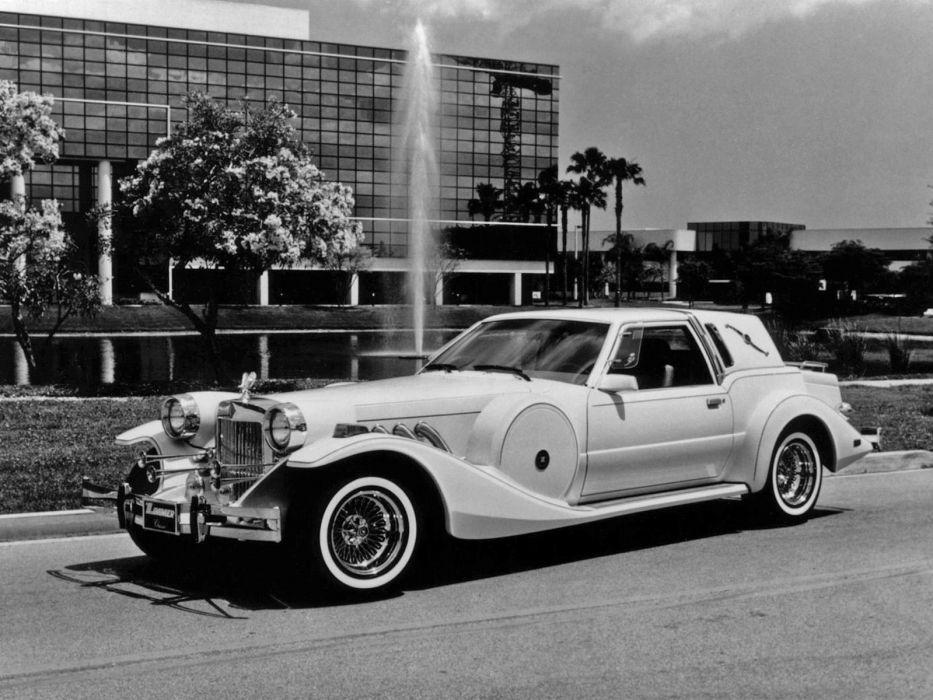 1980 Zimmer Golden Spirit luxury supercar        h wallpaper