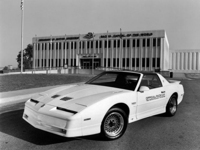 1989 Pontiac Firebird Trans-Am Turbo Indy 500 Pace race racing muscle g wallpaper