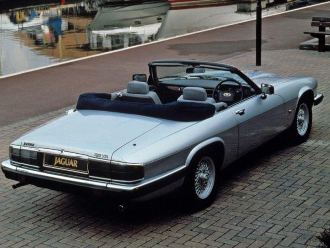 1991-96 Jaguar XJS Convertible UK-spec f wallpaper