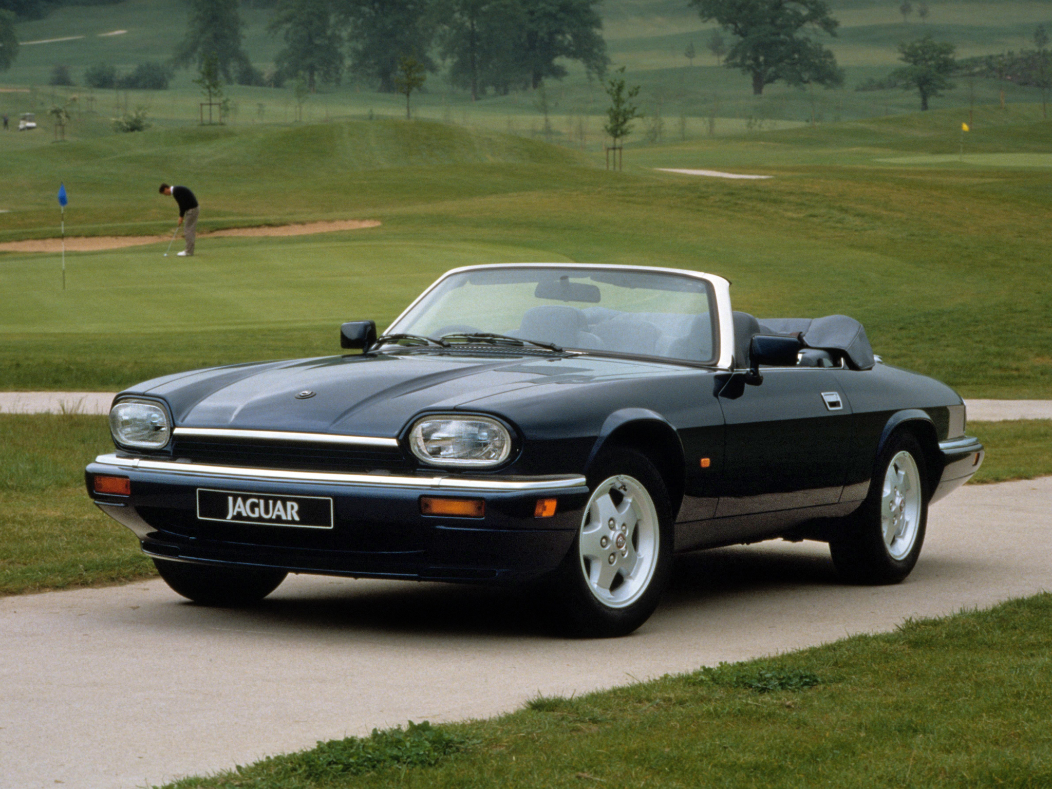 1991 96 Jaguar Xjs Convertible Uk Spec F Wallpaper