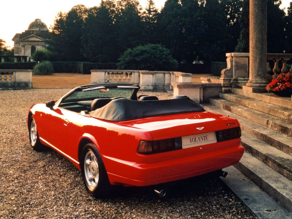 1992-96 Aston Martin Virage Volante  k wallpaper