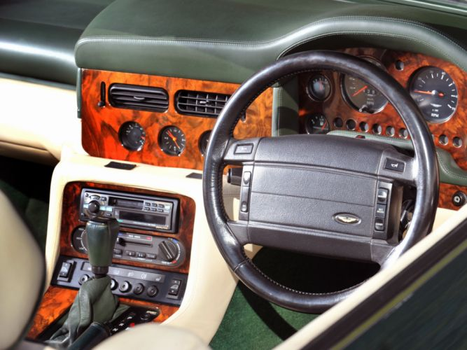 1992-96 Aston Martin Virage Volante interior g wallpaper