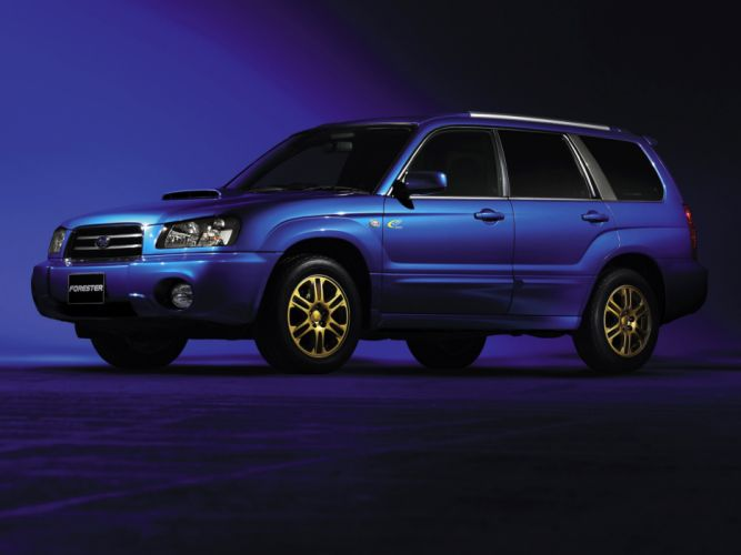 2004 Subaru Forester X-T stationwagon g wallpaper