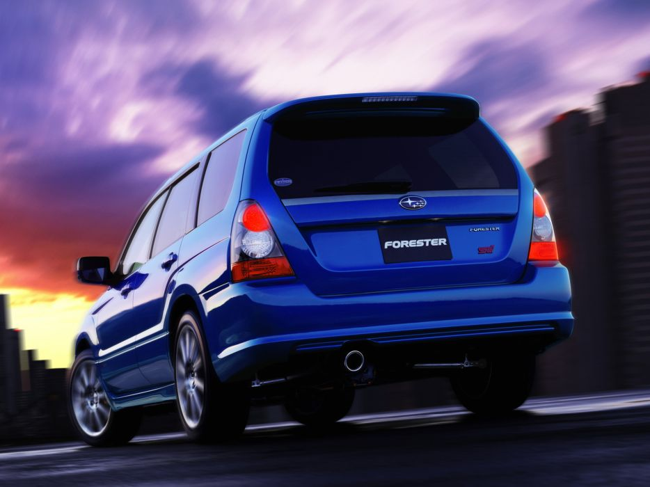 2005 Subaru Forester STI stationwagon   d wallpaper