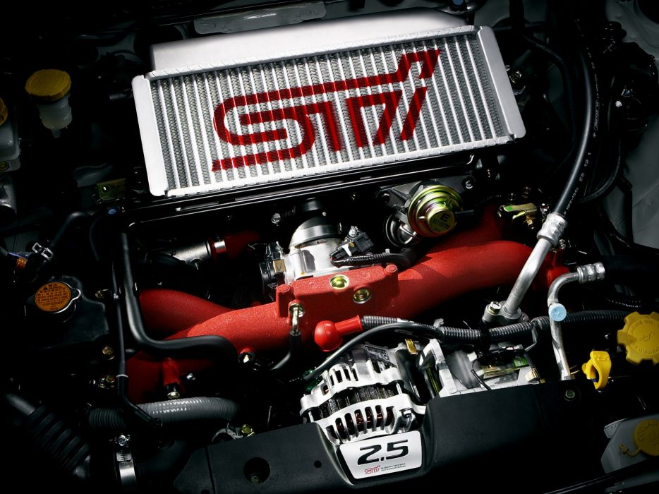 2005 Subaru Forester STI stationwagon engine    g wallpaper