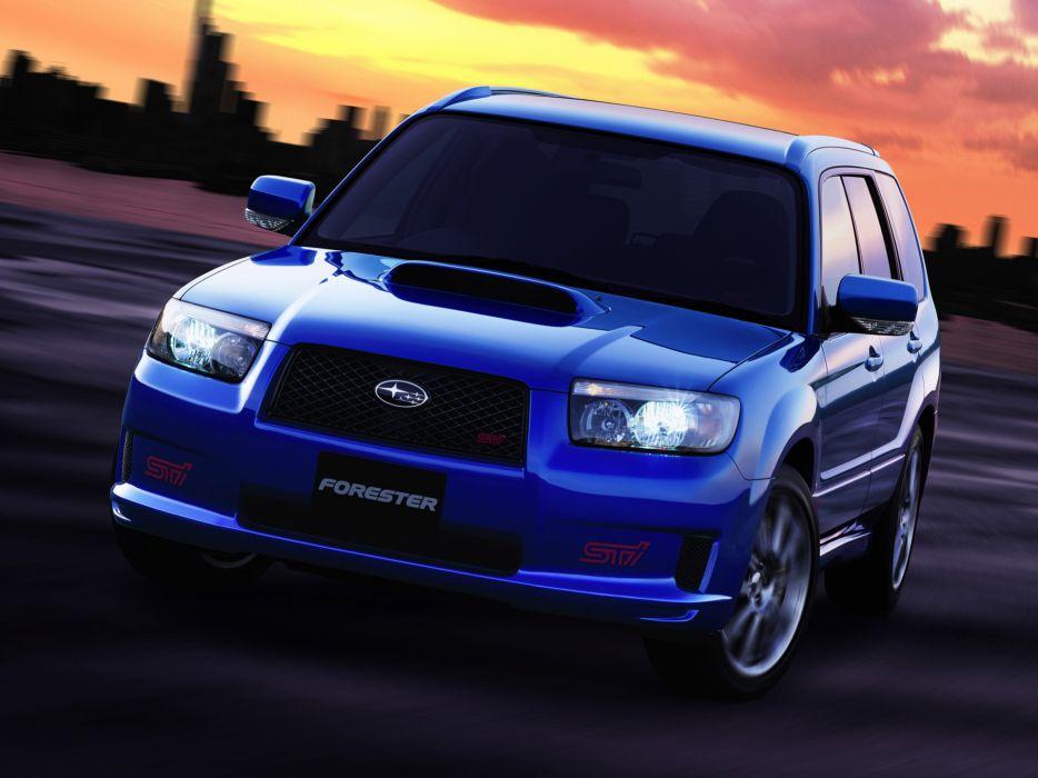 2005 Subaru Forester STI stationwagon         g wallpaper