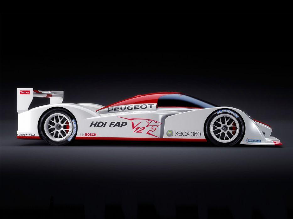 2006 Peugeot 908 Le-Mans Concept race racing        g wallpaper