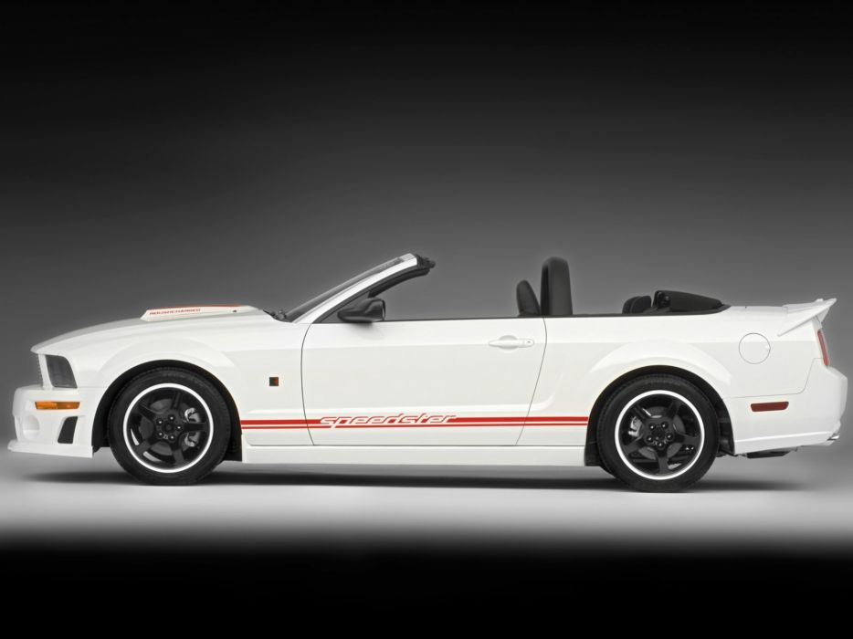 2008 Roush Ford Mustang Speedster muscle  f wallpaper