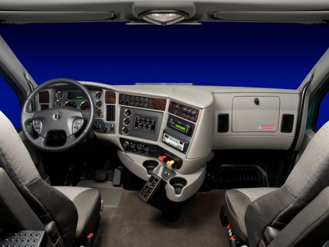 2010 Kenworth T700 semi tractor interior g wallpaper