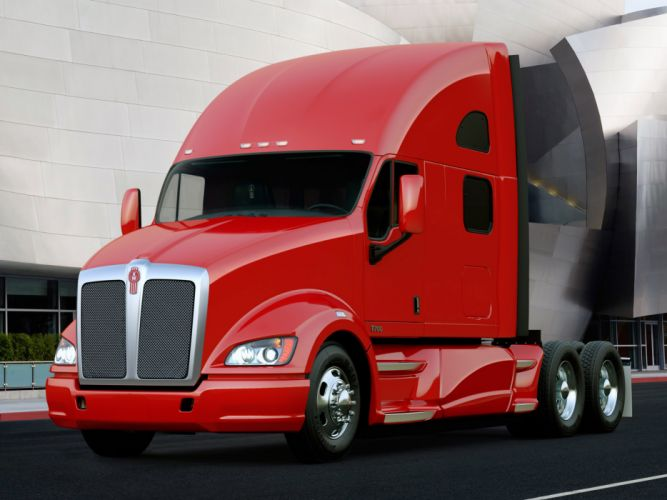 2010 Kenworth T700 semi tractor f wallpaper
