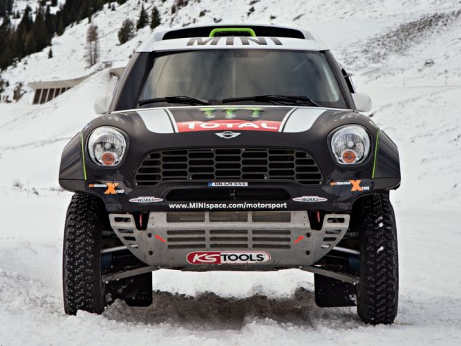 2011 Mini All4 Racing R60 race racing offroad cooper t wallpaper