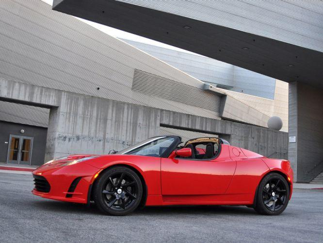 2011 Tesla Roadster 2-5 supercar e wallpaper