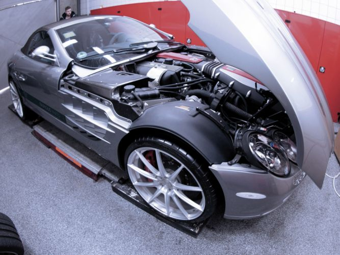 2013 Famous-Parts Mercedes Benz Mclaren SLR Roadster tuning supercar engine wheel wallpaper