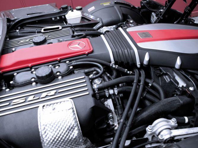 2013 Famous-Parts Mercedes Benz Mclaren SLR Roadster tuning supercar engine g wallpaper