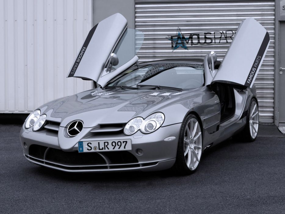 2013 Famous-Parts Mercedes Benz Mclaren SLR Roadster tuning supercar      g wallpaper