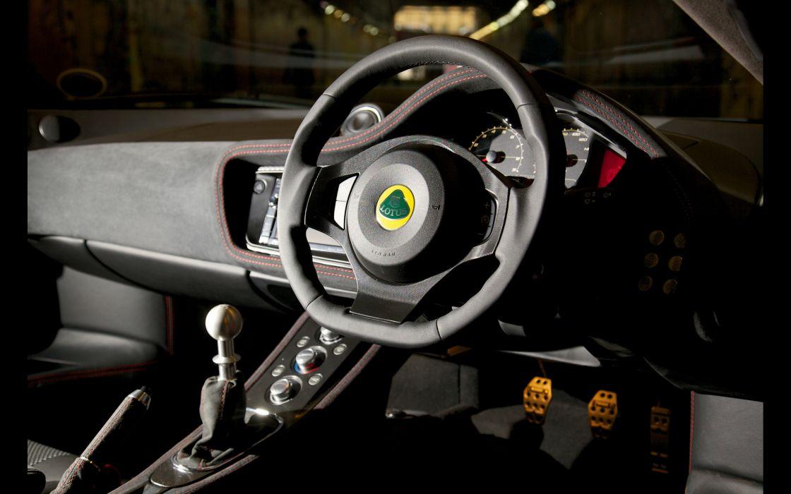 2013 Lotus Evora S Sports Racer supercar interior   g wallpaper
