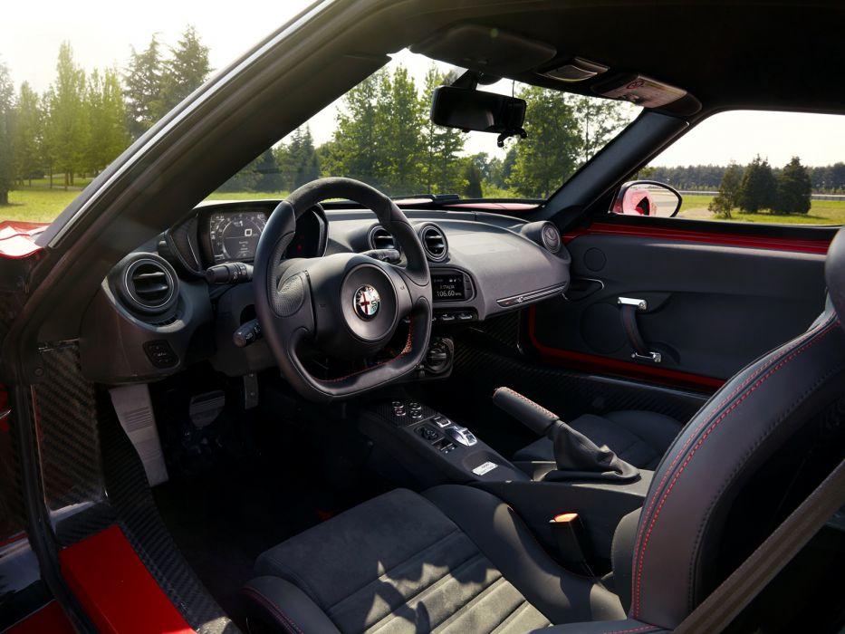 2014 Alfa Romeo 4-C Launch (960) supercar interior   f wallpaper