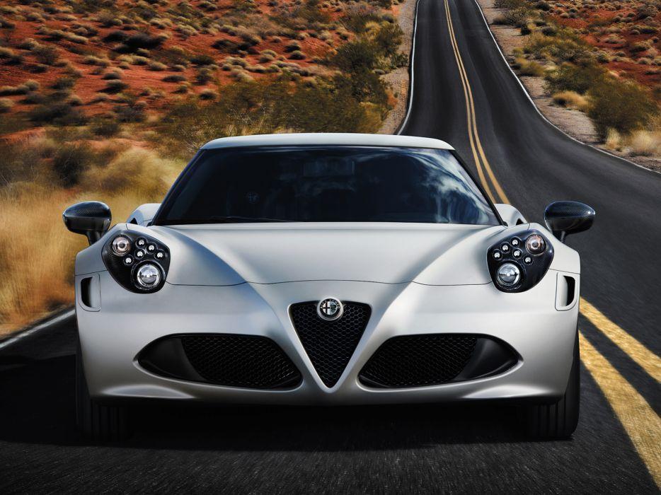 2014 Alfa Romeo 4-C Launch (972) supercar wallpaper