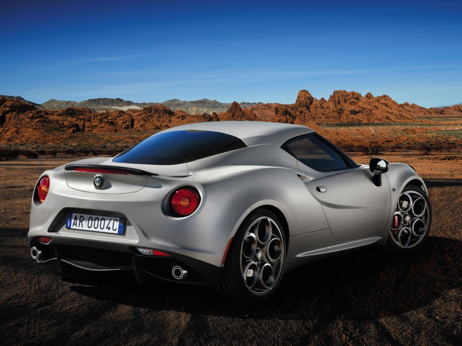 2014 Alfa Romeo 4-C Launch (974) supercar wallpaper