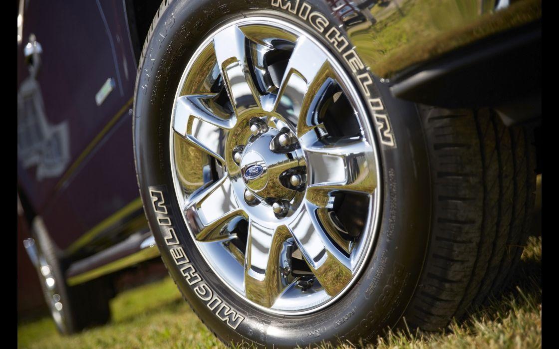 2014 Ford F-150 pickup wheel       h wallpaper