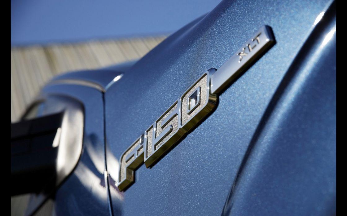 2014 Ford F-150 pickup logo      h wallpaper
