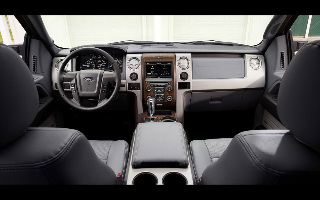 2014 Ford F-150 pickup interior  h wallpaper