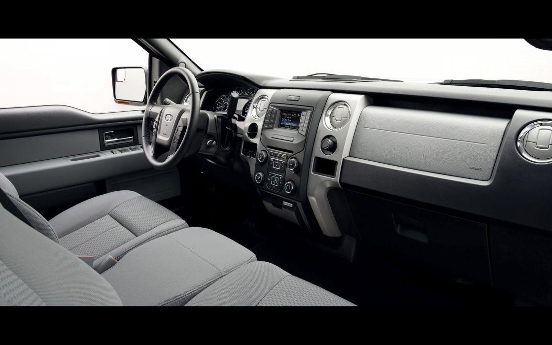 2014 Ford F-150 pickup interior  h wallpaper
