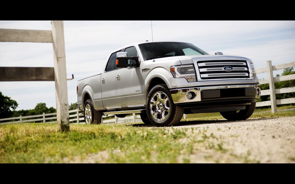 2014 Ford F-150 pickup  ge wallpaper