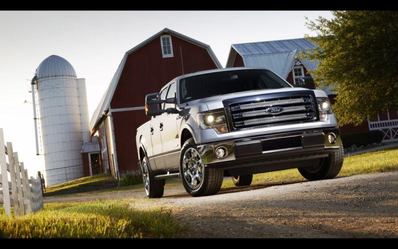 2014 Ford F-150 pickup g wallpaper