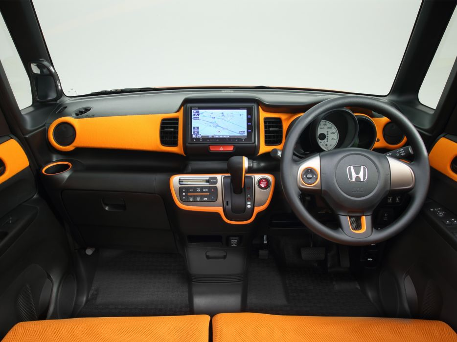 2014 Honda N-Box Element Concept (JF1) suv interior      g wallpaper