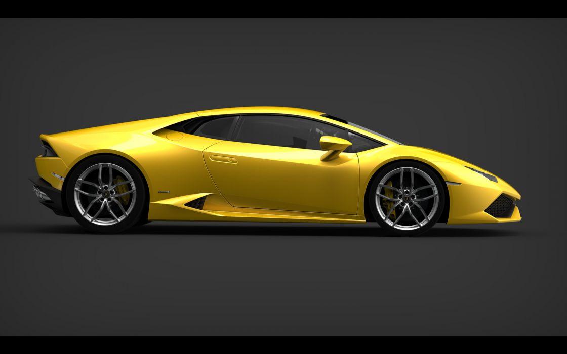 2014 Lamborghini Huracan LP610-4     f wallpaper