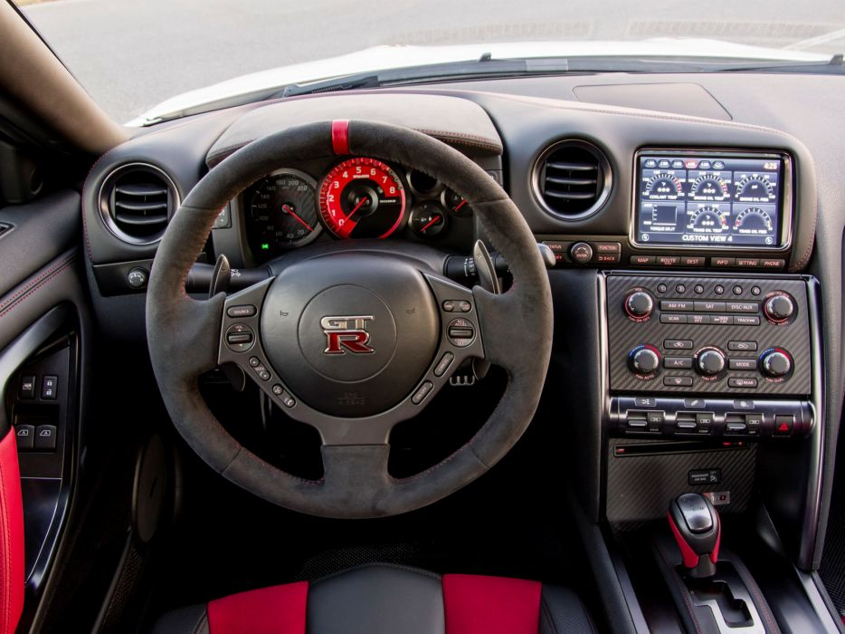 2014 Nismo Nissan GT-R R35 supercar interior       g wallpaper